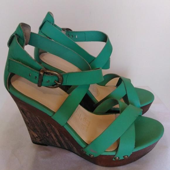 e8d9f9ac172 Andrea Shoes - Andrea emerald green wedges